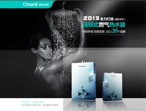 创尔特热水器-JSQ16-WT不锈钢