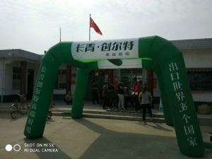 长青创尔特——杨凌寨子村宣传活动